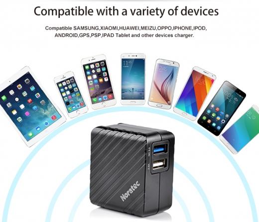 TC-C350Q BSMI QC3.0+ISO 2.4A dual port quick charger 2