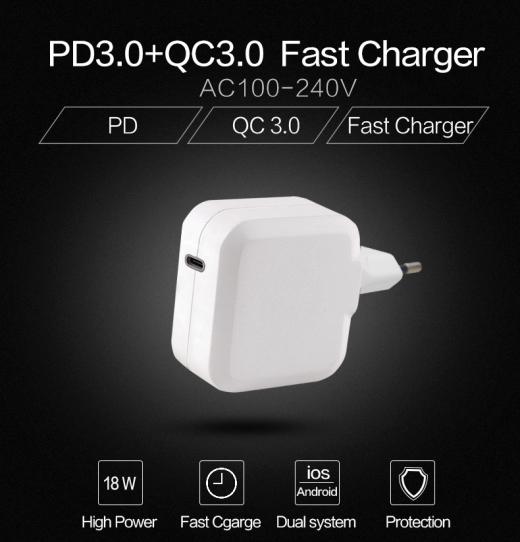 TC-K300C QC3.0 quick charger 3
