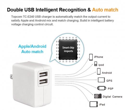TC-E240 USB Charger 3