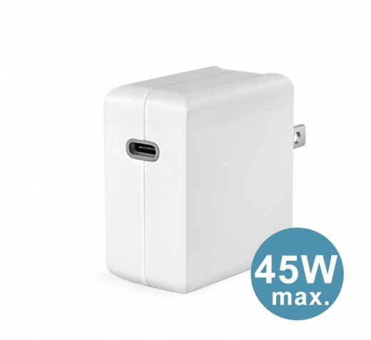 TC-EPD45W Type-C Power Delivery and QC3.0 quick charge mode USB adaptor 1