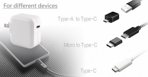 TC-KPD45W USB-C PD 3.0+QC3.0 USB fast charger 2