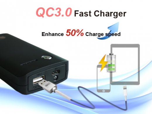 PB-Q100C QC3.0 USB-C interface power bank 2
