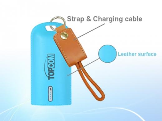 PB-S9-Leather 10050 mAh Li-ion battery power bank 2