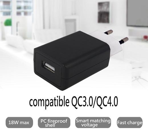 TC-S300Q QC3.0 EU plug quick charger 3