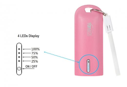 PB-S6-Leather 6700 mAh Li-ion battery power bank 3